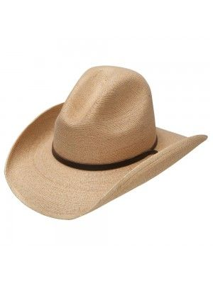 Stetson Bryce – Mexican Palm Straw Cowboy Hat