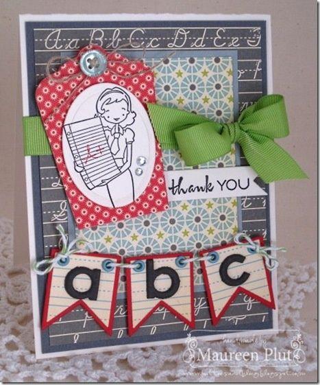 Teacher Thank You Cards   Thank you teacher cards