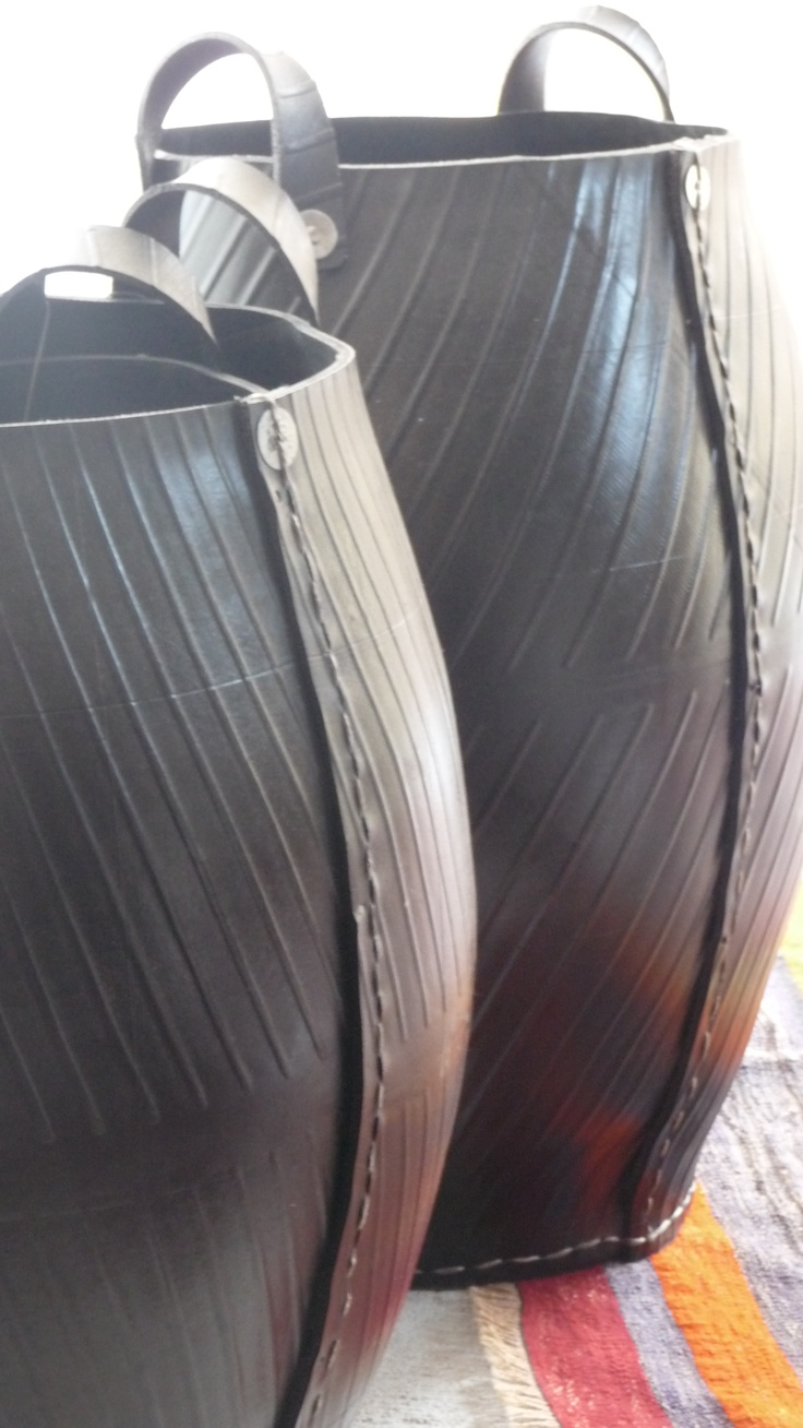 Jarre en pneu recyclé TADE