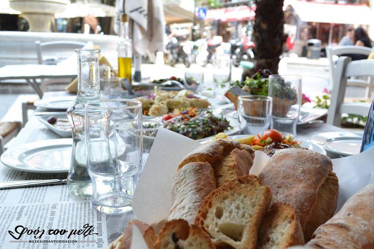 Παρέα στην πιο όμορφη πλατεία της πόλης!#φούλτουμεζέ #ουζομεζεδοπωλείον #Θεσσαλονίκη #Λαδάδικα