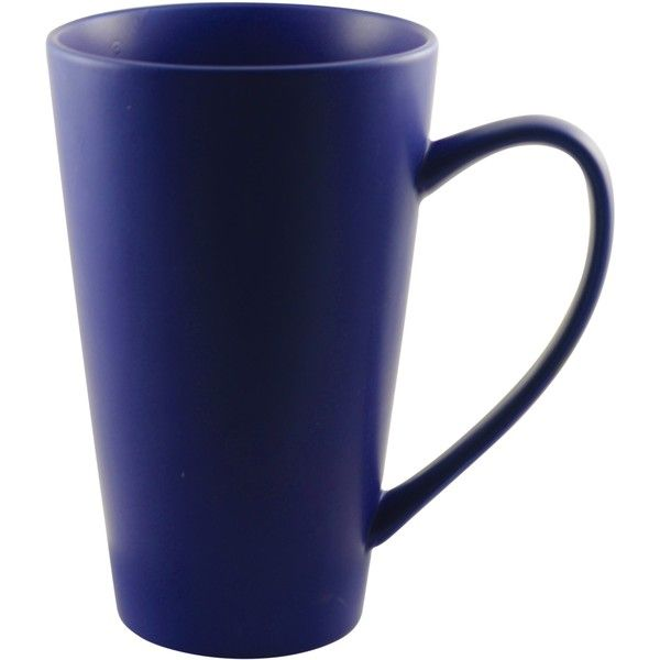 10 Strawberry Street Oversized 24-ounce White Cobalt Mug ($31) ❤ liked on Polyvore featuring home, kitchen & dining, drinkware, blue, tea mug, white mug set, tea mug set, oversized tea mugs and white porcelain mugs