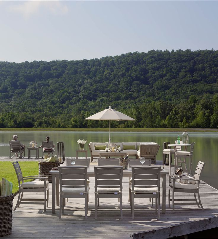 Outdoor Furniture From The Charleston Collection By Summer