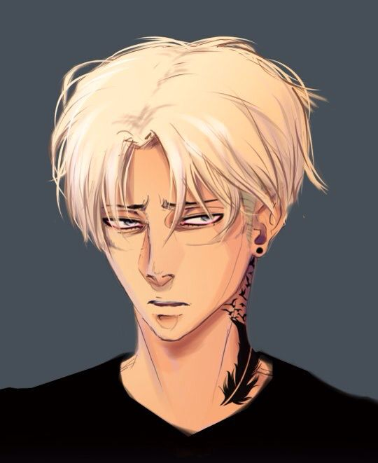 Levi With White Hair  Attack On Titan Pinterest My Draco