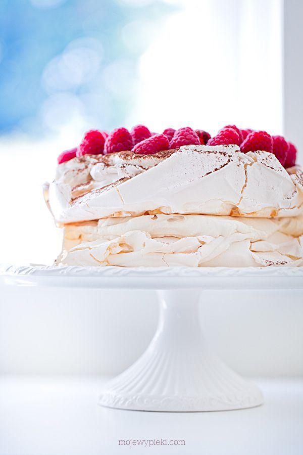 Tort bezowy z Irish Cream