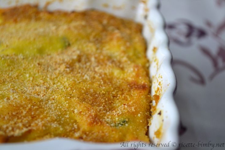 Gateau di patate con zucchine Bimby • Ricette Bimby