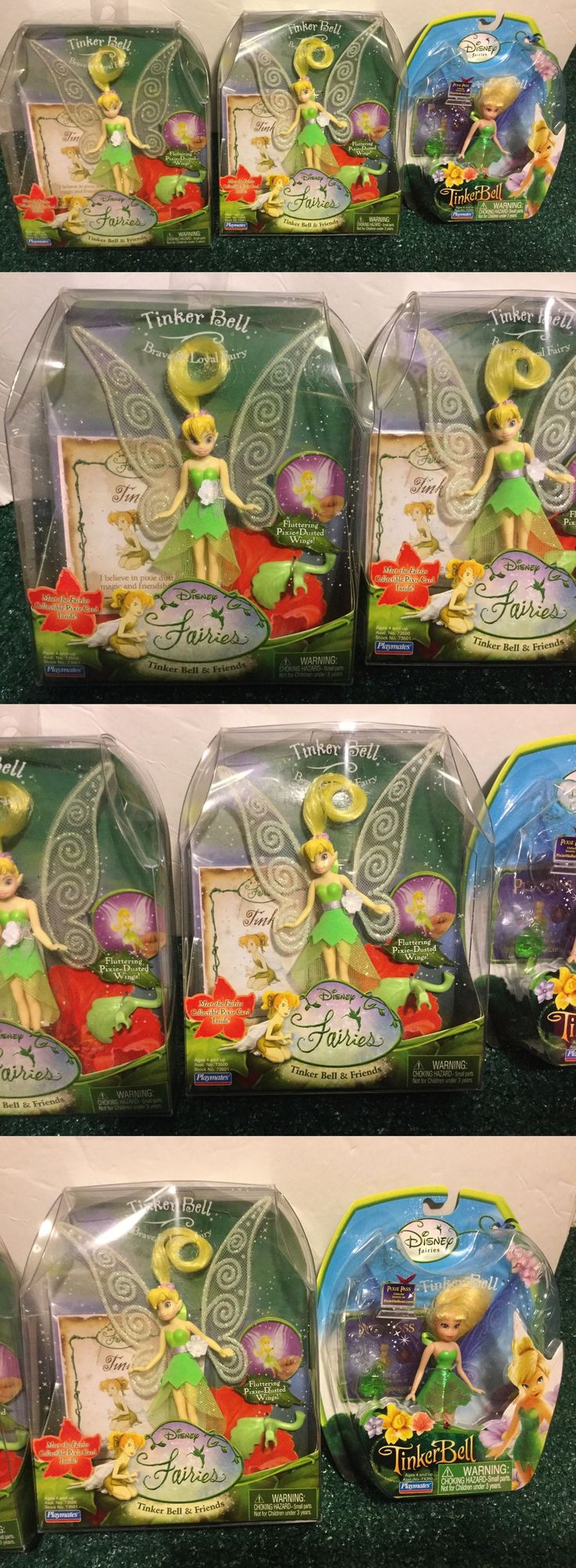 Tinker Bell Peter Pan 146041: Disney Fairies Tinker Bell Friends Figure Lot Brave And Loyal Playmates 2006 2008 -> BUY IT NOW ONLY: $49.99 on eBay!
