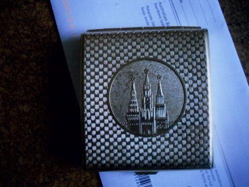 Vintage Russian cigartette case