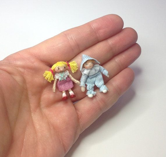 Miniature 1/4 1:48 QS Quarter Inch Scale Andy Pandy by IckleFingz