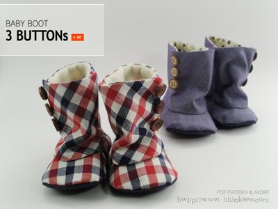 DIY Baby Shoes - sooo cute! I need to get sewing!