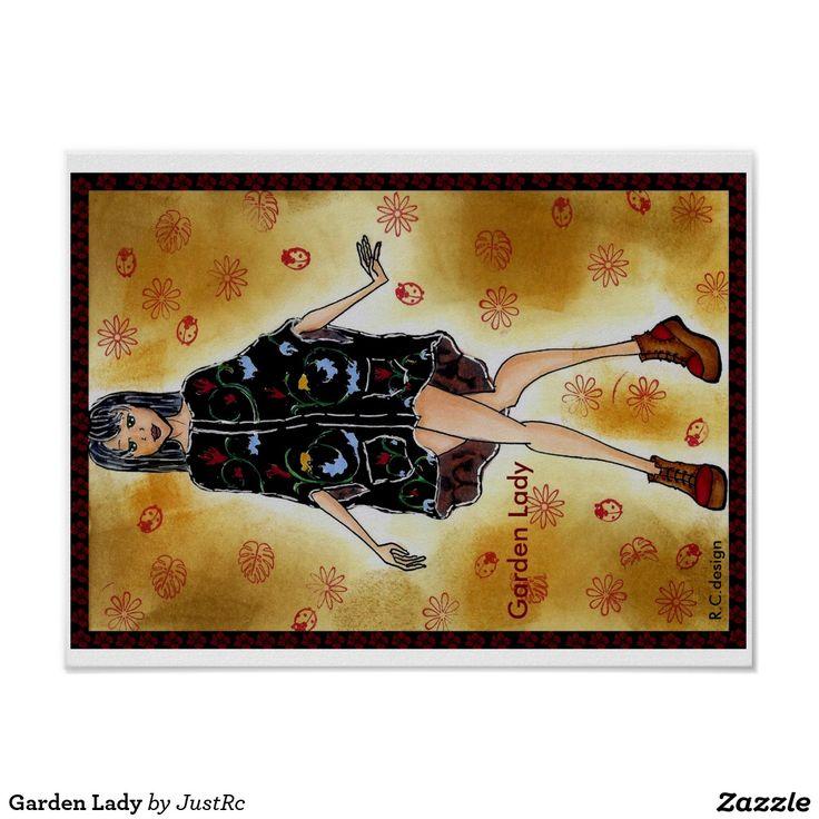 Garden Lady Poster