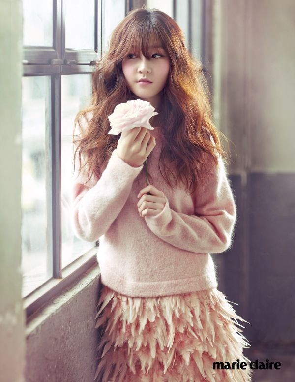 'Marie Claire Korea' March 2015 | 김새론 Kim Sae Ron | DKNY