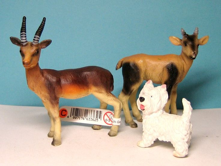 Bullyland Grants gazelle & topi young