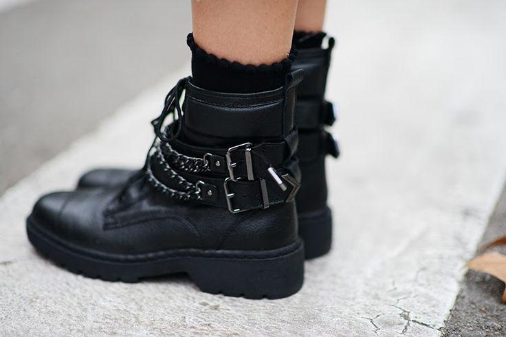 Zina Charkoplia wearing Balenciaga boots, love the combo http://sulia.com/channel/fashion/f/6a9a4ad9-3ef1-4b09-a393-7f840dd952e0/?pinner=124969623&