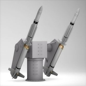 SM-2 Missile Launching Turret 3D Model in 2019 | Latest 3D