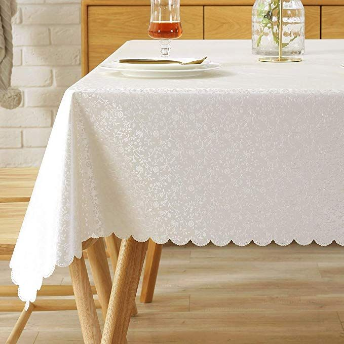 Peva Tablecloth Oilcloth Picnic Pvc Wipeable Plastic Spillproof