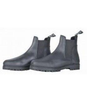 Rijschoenen zijn vaak Jodphur laarsen. Deze zijn voorzien van een rits voor het makkelijk aan- en uittrekken en in combinatie met chaps of een jodphurbroek geschikt om paard mee te rijden.