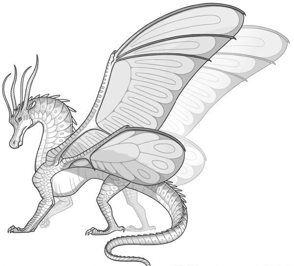 Wings of fire dragon coloring pages ~ 1619 best Wings of fire images on Pinterest | Dragons ...