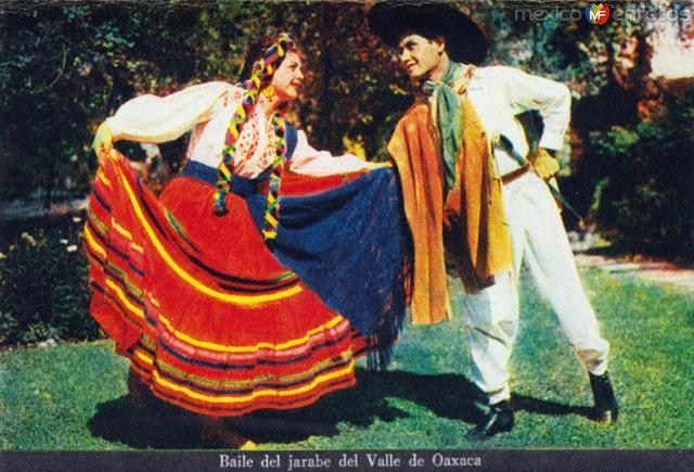 Baile del jarabe del Valle de Oaxaca