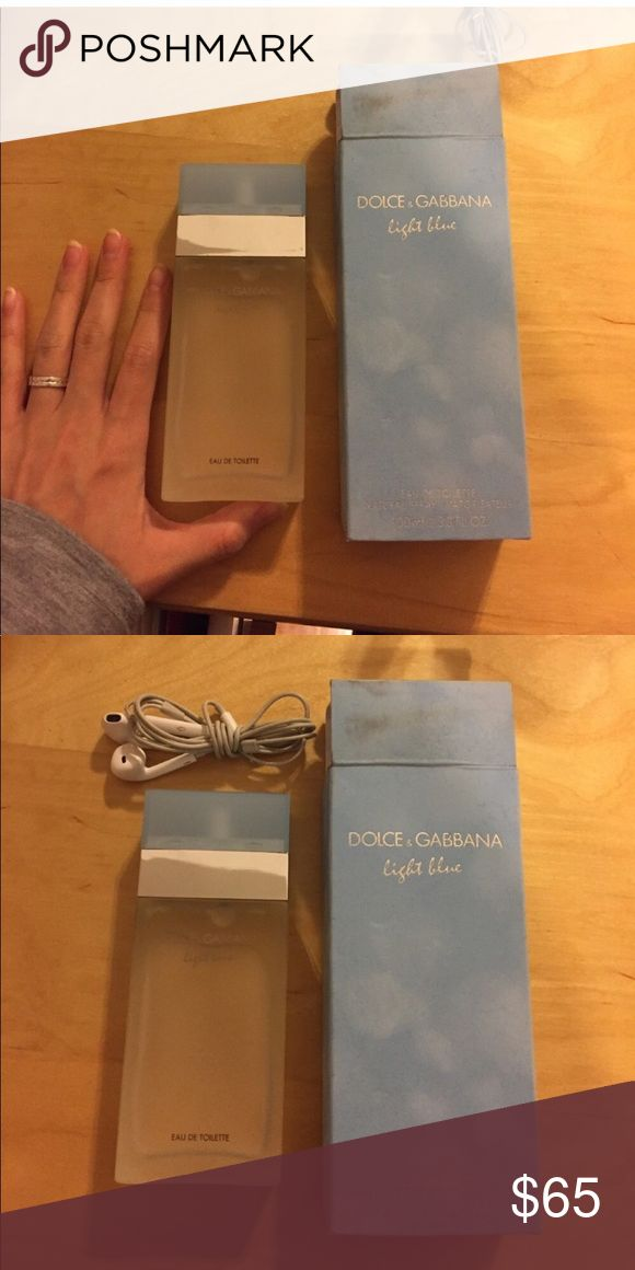 Dolce and Gabbana light blue 100ml Authentic. Last person cancelled purchase when I shipped them out. Please dont purchase if you plan on cancelling. Box included Dolce & Gabbana Other