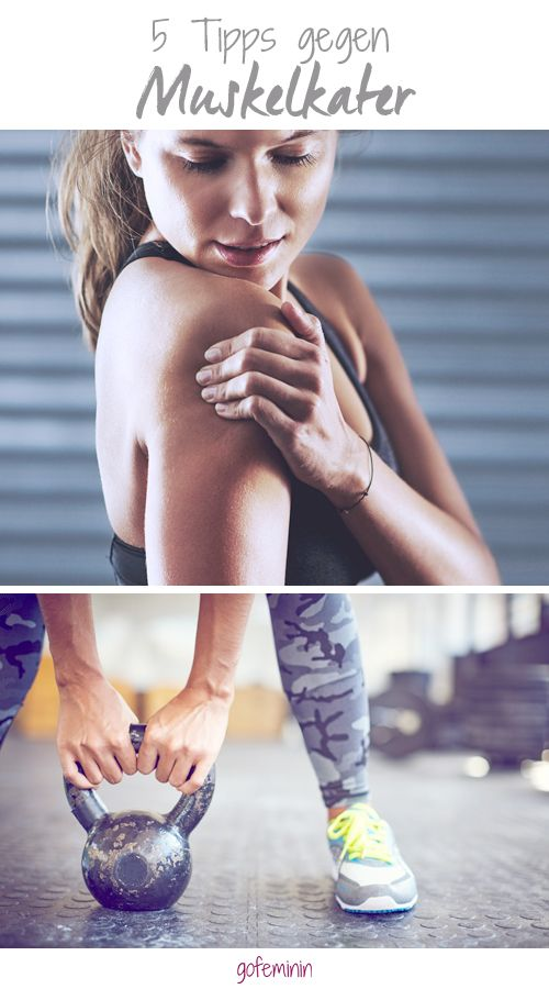 Was hilft gegen Muskelkater? Wir haben die besten Tipps!