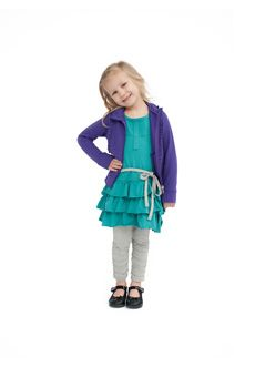 Peekaboo Beans - Day By Day Dress Playwear for kids on the grow!