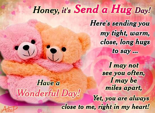 15 best valentine week images on pinterest valantine day a hug send your warm loving hugs to your loved ones with this cute card free online cute warm hugs just for you ecards on send a hug day m4hsunfo