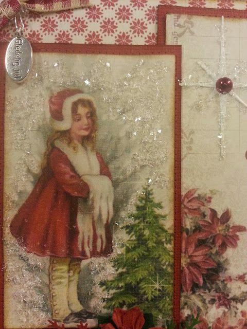 Kreativ Glede - Scrapglede: Julekort 3