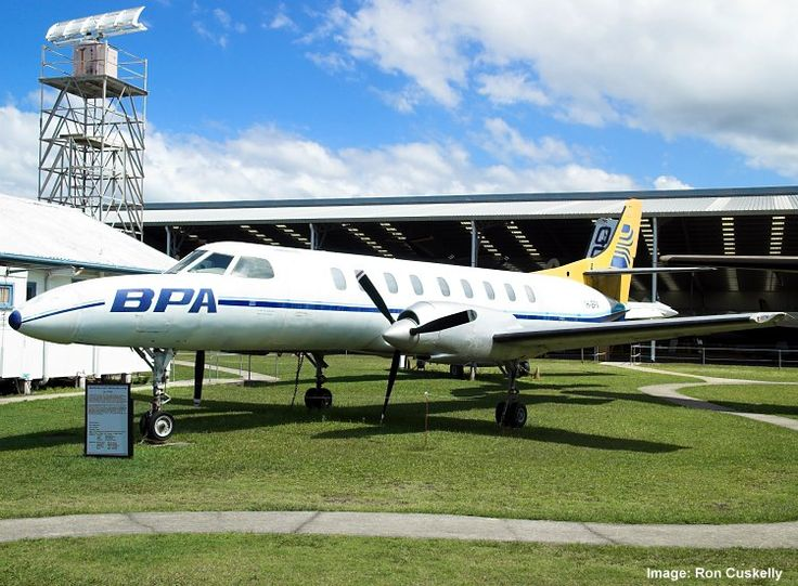 QAM AIRCRAFT COLLECTION, Swearingen SA-226-TC Metroliner II VH-BPV c/n TC-270 with replica propellers, 12/9/10. Photograph Ron Cuskelly.
