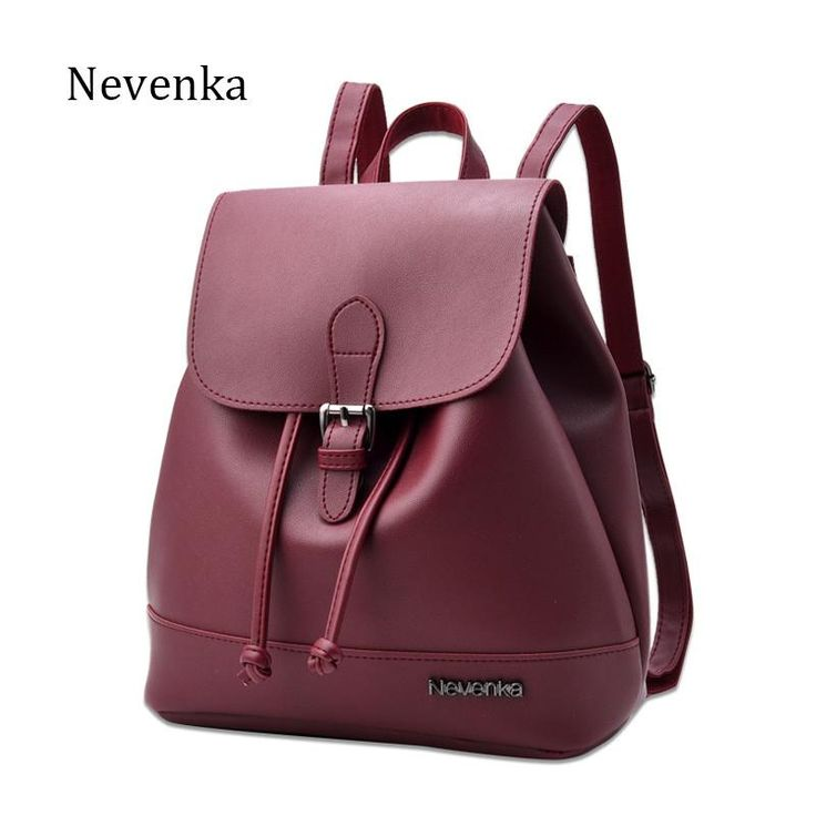 Fashion Women Backpack Casual Design  faux leather Style Shoulder Bag