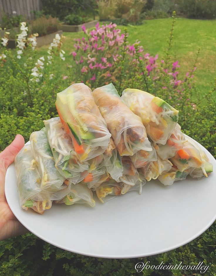 Rice paper rolls would have to be one of my all time fave foods ever! These home made chicken teriyaki ones are to die for!