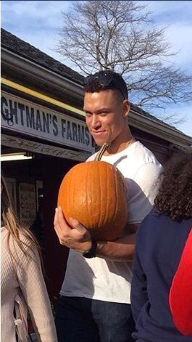 Aaron at Wightman Farms pumpkin picking today. 10/28/17