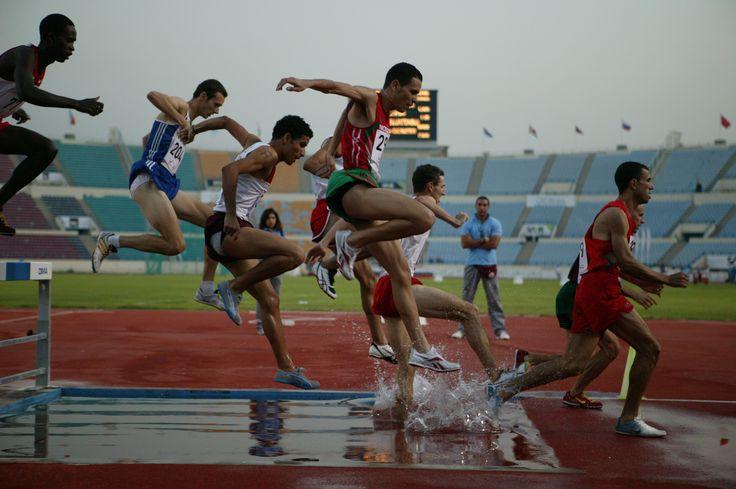Epreuve d'athlétisme - Ves Jeux de la Francophonie de Niamey, Niger - 2005