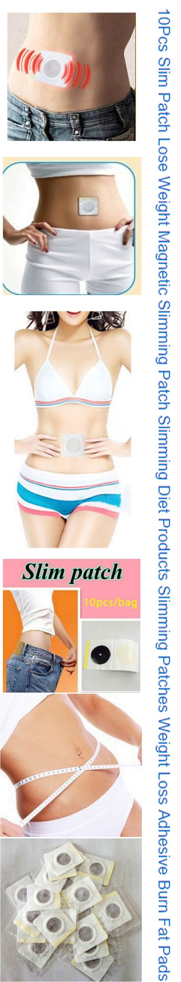 10Pcs Slim Patch Lose Weight Magnetic Slimming Patch Slimming Diet Products Slimming Patches Weight Loss Adhesive Burn Fat Pads