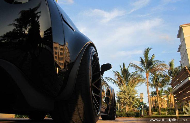 Chevrolet Corvette ZR1 Wide Body Kit Conversion