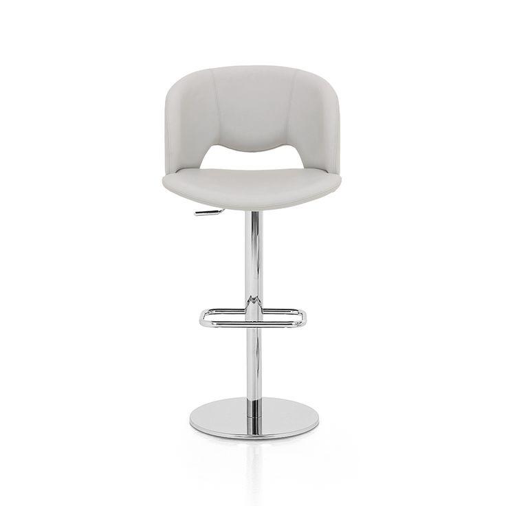 € 235,00 FASHION-51 #sgabello #design moderno, girevole a 360°, base in metallo cromato, regolabile in altezza, seduta ampia e confortevole, 100% #MadeinItaly, in #offerta #prezzo #sconto 50% su www.chairsoutlet.com