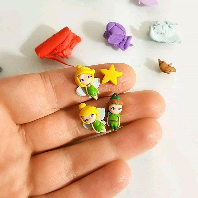 TinkerbellePeter Pan stud earring  Link shop in bio . . . #disney #studearrings #magneticearrings #disneyprincess #princess #principesse #miniature #disneylover #handmadeinitaly #handmadejewelry #etsy #etsyshop #kawaii #kids #shoppingonline #christmasgift #magickingdom #disneyworld #disneyland #shop #trilly #tinkerbell #disneyfind #peterpan #jasmine #ariel #mulan #snowwhite #biancaneve #mixmatch