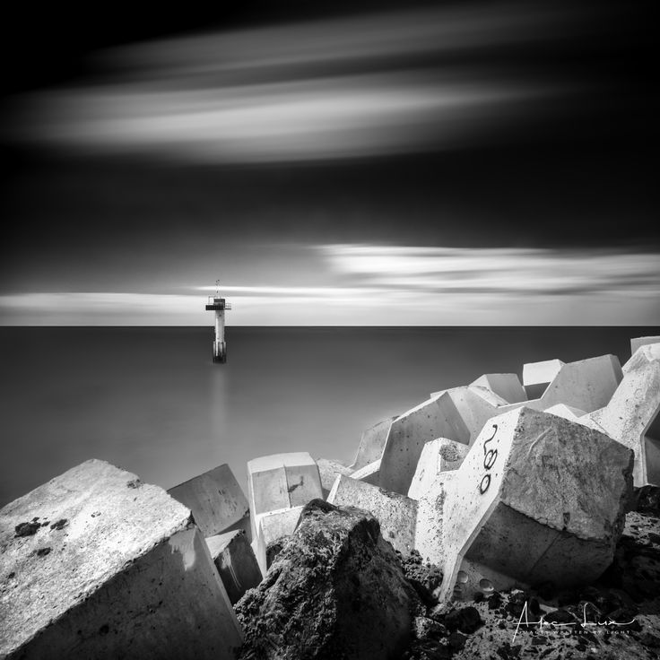 Cadzand Abstraction IV - Cadzand, in the Netherlands, made great transformations. They added a new harbour. I recently visited to see the changes, and I'm impressed of what they did. Made some long exposures of it. #BW #beach #blackandwhite #blackandwhitephotography #blocks #breakwater #cadzand #coast #coastline #entrance #groyne #harbour #landscape #landscapephotography #lighthouse #longexposure #longexposurephotography #marine #nature #naturephotography #netherlands #ocean #port #rocks…