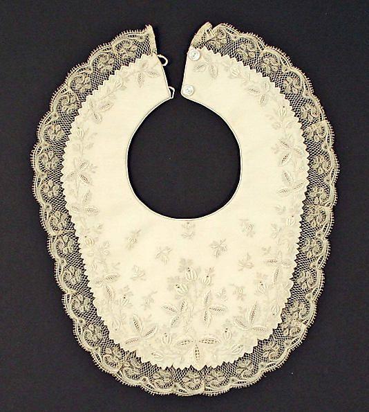 antique baby bib ... ca. 1890-1900