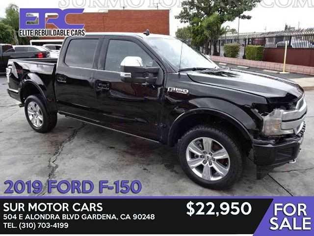 Stock Number Fb46786 Vin 1ftew1e45kfb46786 2019 Ford F 150 Sur
