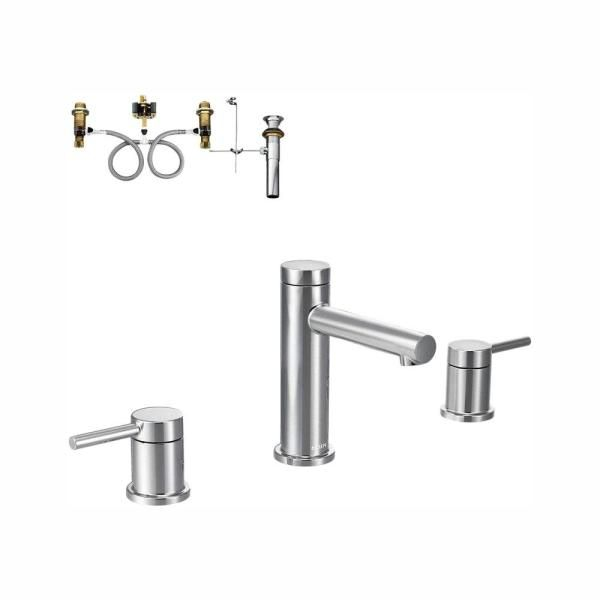 bathroom faucet trim kit in chrome