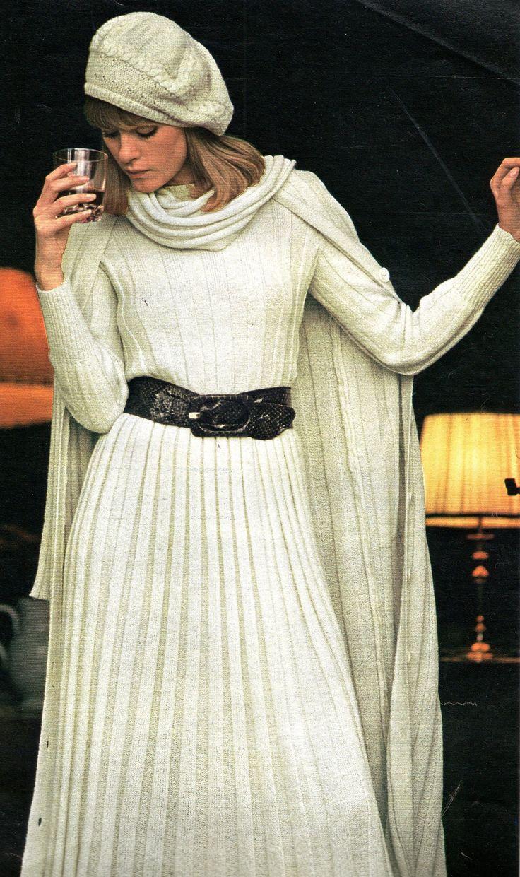 The 1970s-1974 Jours de France -Winter fashion   by april-mo
