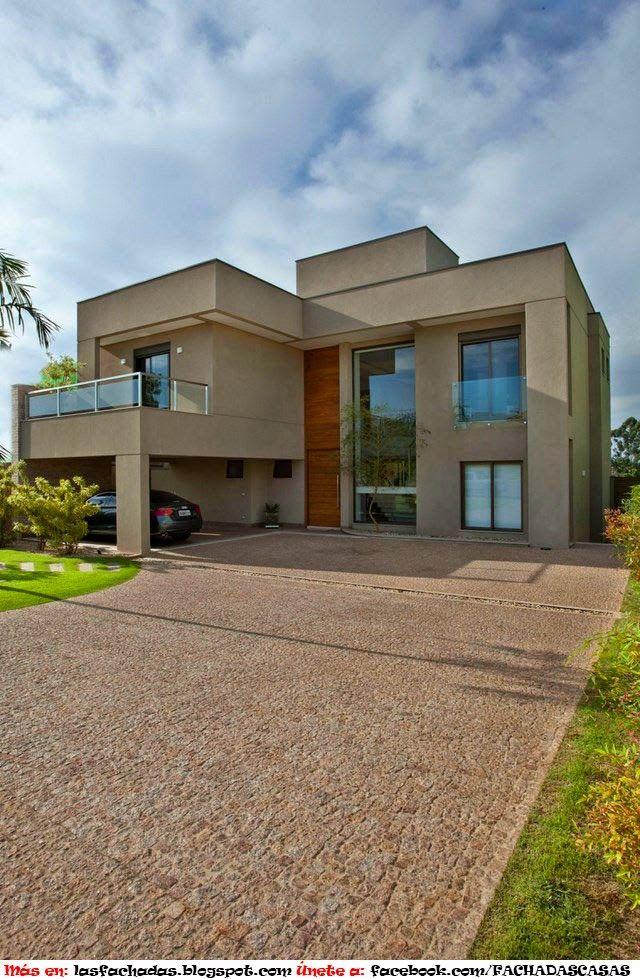 Best 25 fachadas de casas contemporaneas ideas on - Fachadas casas contemporaneas ...
