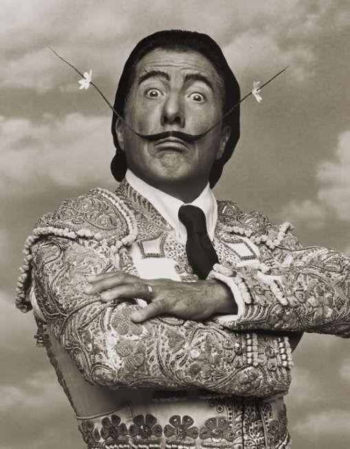 MASTER Dustin Hoffmann as MASTER Salvador Dali by MASTER Herb Ritts#masterandmuse #ambervalletta #yoox