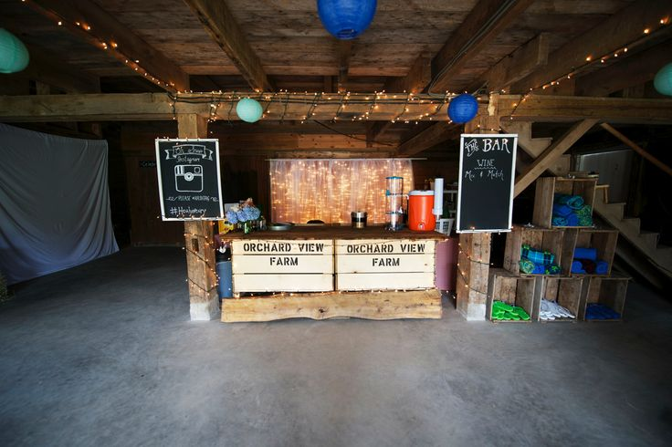 Bar - Barn Wedding