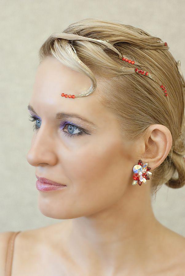 17 Best Images About Ballroom Hair On Pinterest | Sleek Ponytail Updo And Ballroom Dance Hair
