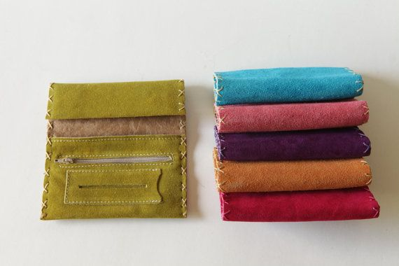 Handmade leather tobacco pouch avaliable in six by TUMABROTHERS