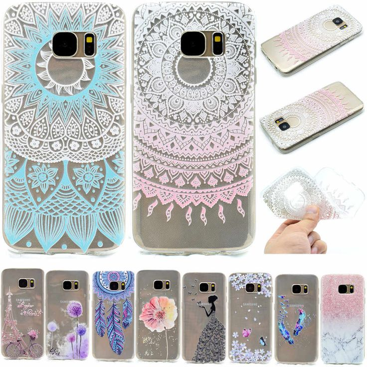 Cute Cartoon Painted Cell Phone Case For Samsung Galaxy S7 S 7 Soft Silicone TPU Protective Case For Coque Samsung S7 Edge Capa