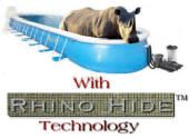 On Sale Now.. Rhino Hide Portable Pools...   It's a Rhino of a Sale.. Our Pools are built Rhino Hide Tuff.  http://www.arthurspools.com/2013/07/18/rhino-hide-portable-pools-sale/