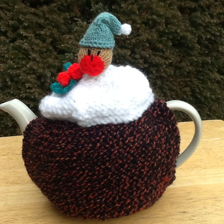 Knitting Pattern For Robin Tea Cosy : 1455 best images about Tea Cozies on Pinterest Christmas tea, Crochet tea c...