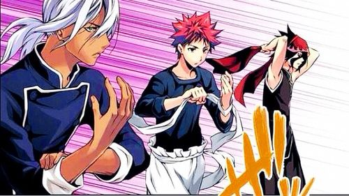 Food Wars! Shokugeki no Soma ~ Aaarrggh the anime ended already, now I have to read the Manga!! XD